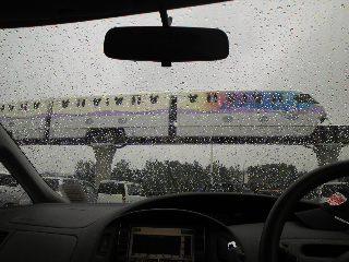 残念!雨天